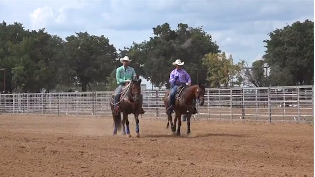 Taking Extra Swing When Steer Comes L...