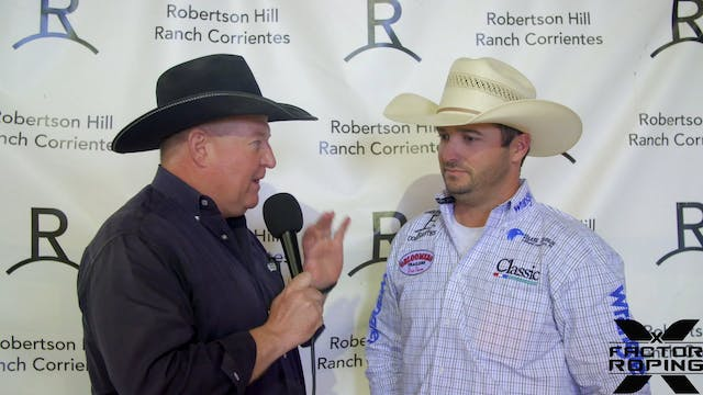 Pre-Roping Interview with Austin Robe...