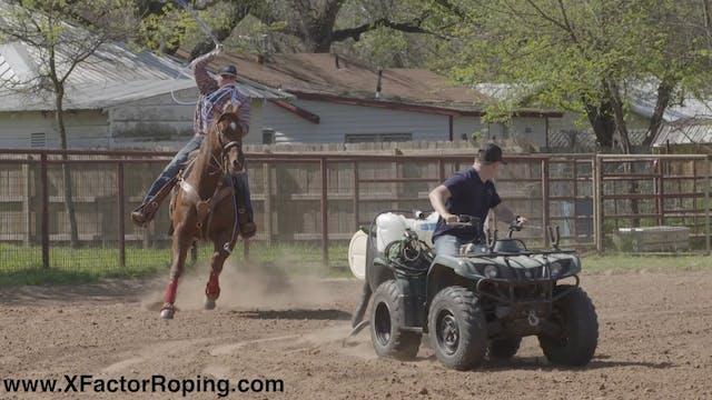 Riding Good Heel Horses Slowing Them ...