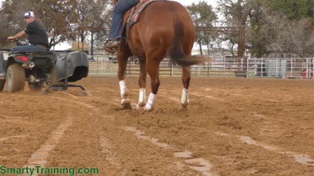 Keeping Your Horse Directly Behind th...