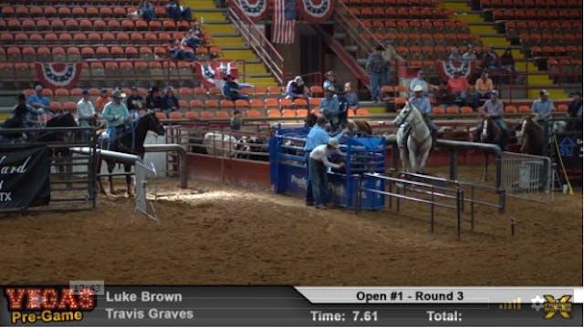 Vegas Pre-Game Roping - Round 3