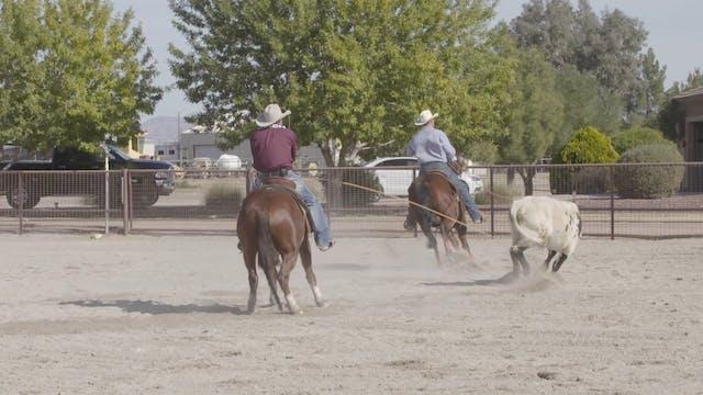Roping Stronger Steers with Cesar De ...