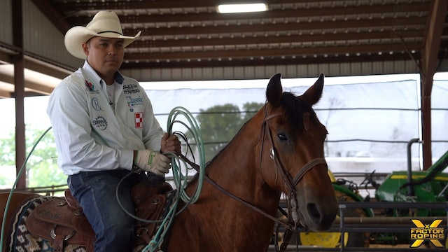 Erich Rogers - Left Hand Position and Benefits of Coming From The Saddle Horn