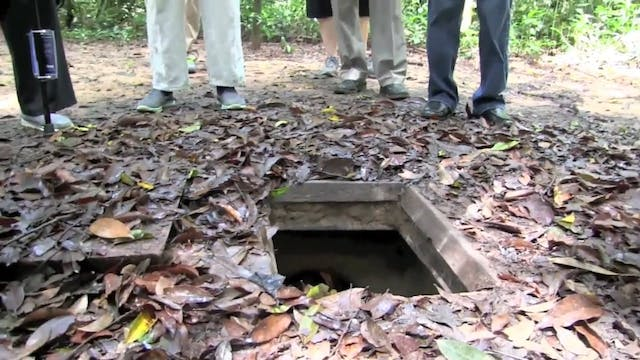 Cu Chi Tunnels at Vietnam