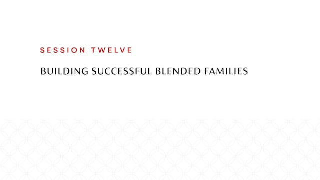Session Twelve | Building Successful ...