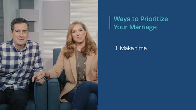 How to Prioritize Your Marriage - Dav...