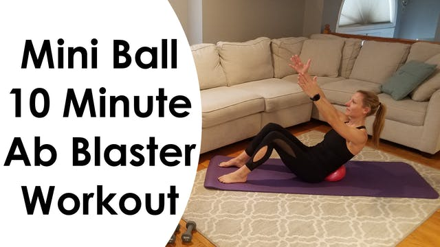 Workout Hotel - Mini Ball 10 Minute A...