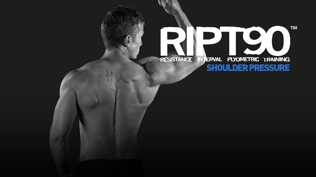 RIPT90 Shoulder Pressure