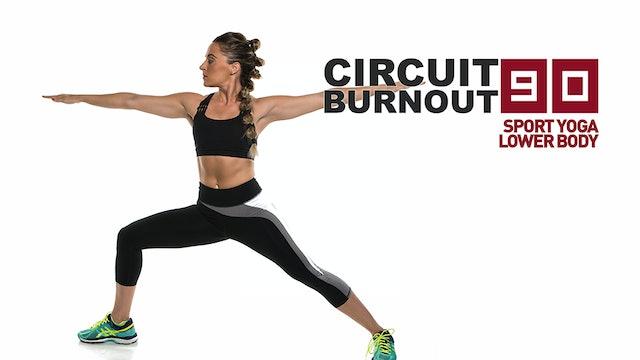 Circuit Burnout 90 Sport Yoga Lower Body