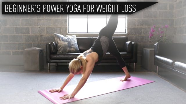 Beginner's Power Yoga for Weight Loss...