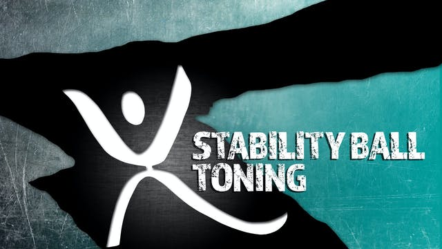 XTRAINFIT.TV Stability Ball Toning