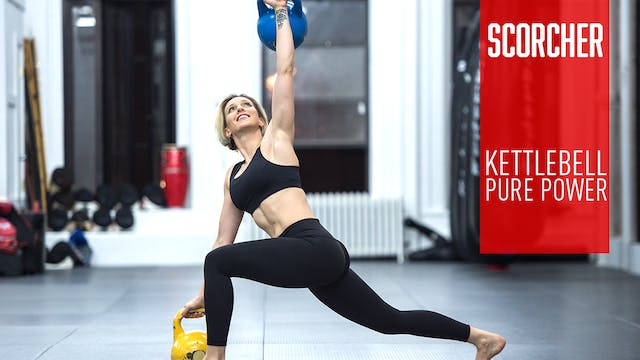 SCORCHER - Kettlebell Pure Power