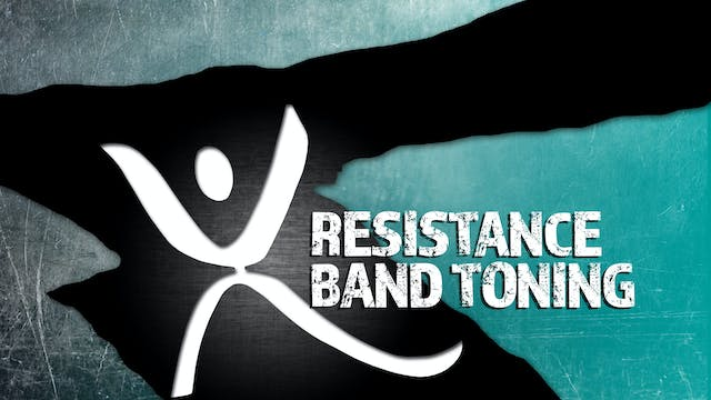XTRAINFIT.TV Resistance Band Toning