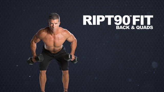 RIPT90 FIT Back and Quads
