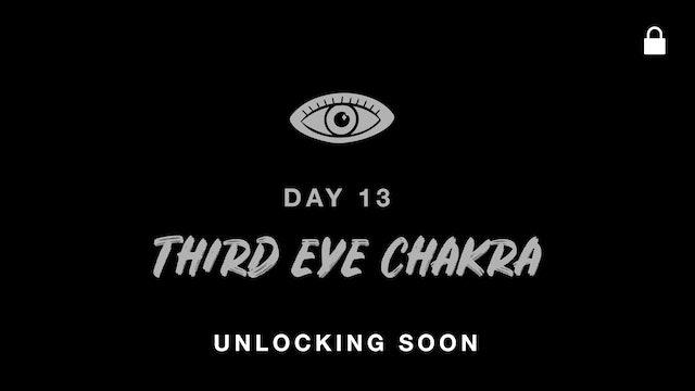 SEPT 26: THIRD EYE CHAKRA