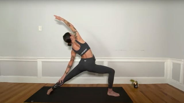 MINI BURN: BACK BODY WITH SARAH BESS H