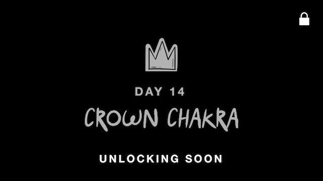 SEPT 27: CROWN CHAKRA