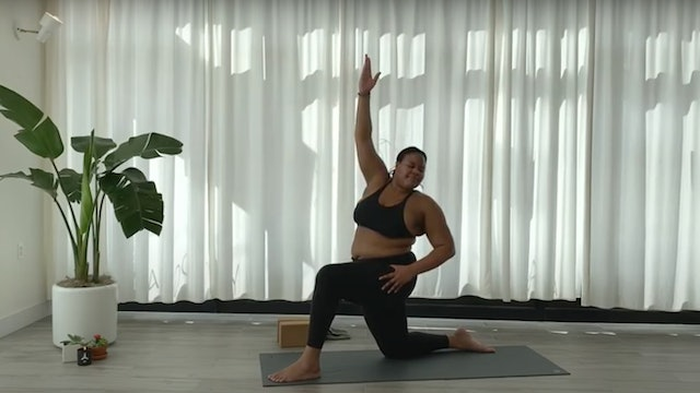 SLOW BURN VINYASA YOGA WITH ANGELICA W