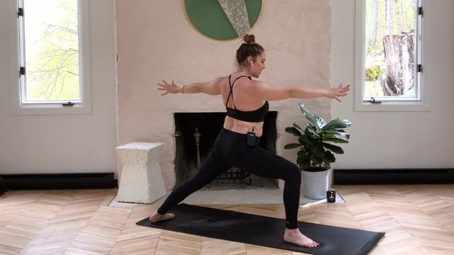 POWER VINYASA WITH CASEY LAYNE A