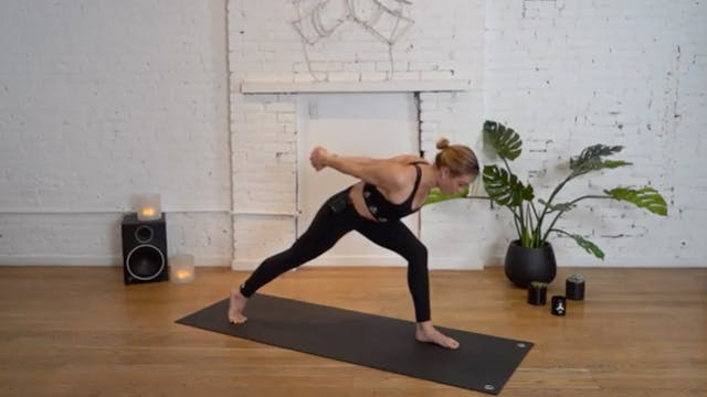 POWER VINYASA WITH KENDRA T