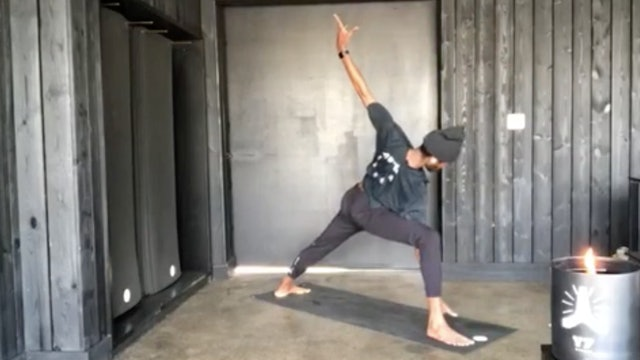 LIVE: WEFLOWHARD® VINYASA YOGA WITH BRANDON S