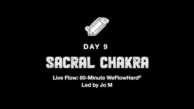 LIVE: THE ENERGY SERIES | SACRAL CHAK...