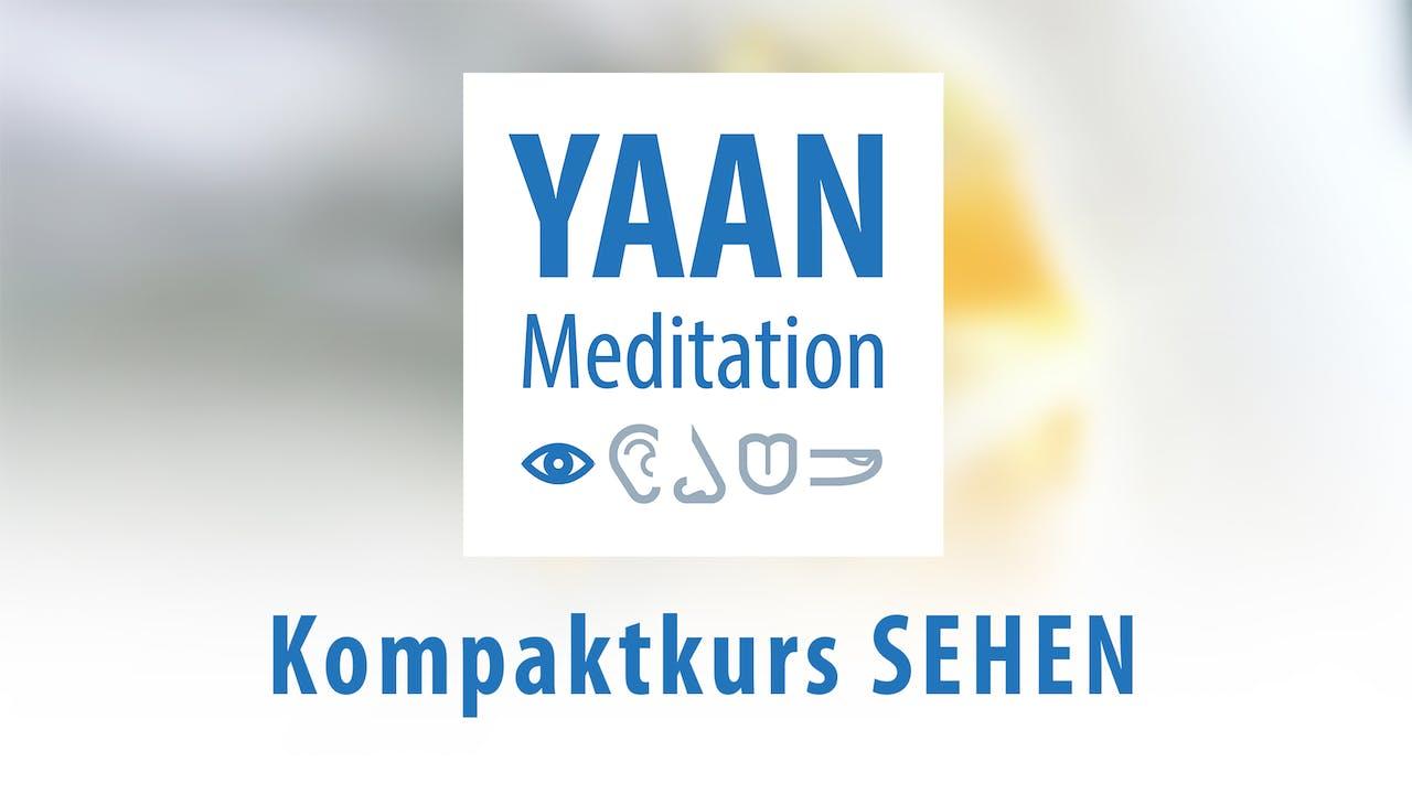 Yaan Meditation Kompaktkurs SEHEN - Komplettpaket