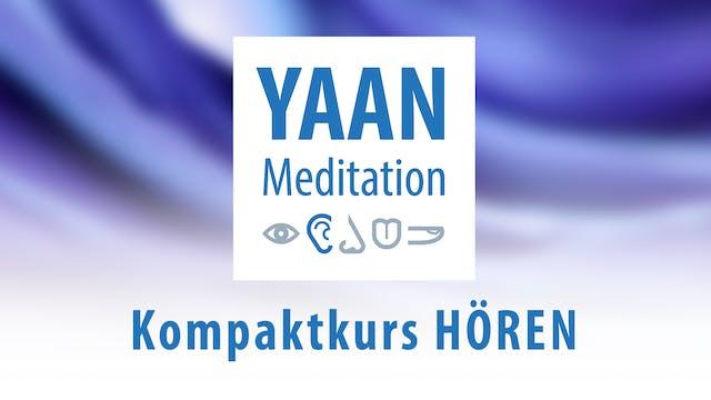 Yaan Meditation Kompaktkurs HÖREN - Komplettpaket