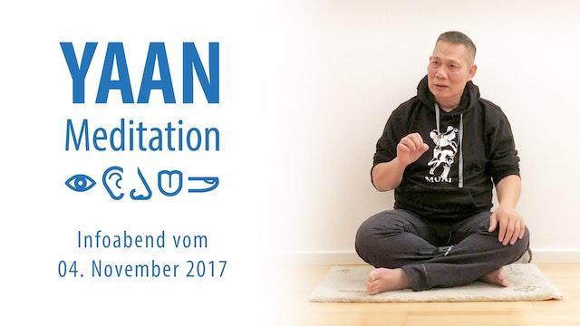 Yaan Infoabend vom 04. November 2017