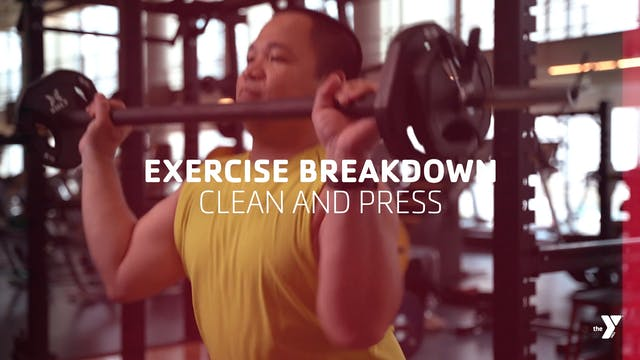 The Clean and Press - Exercise Breakdown