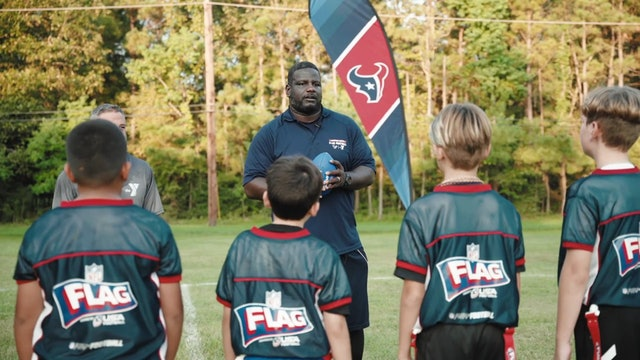 Texans Flag Football -  Route Running