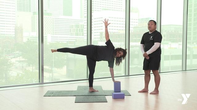 Half Moon - Yoga Breakdown