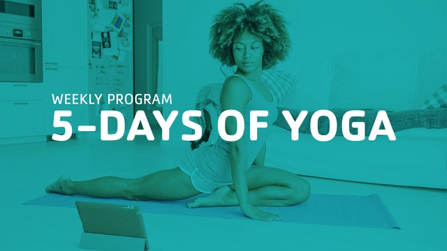 5-days of Yoga