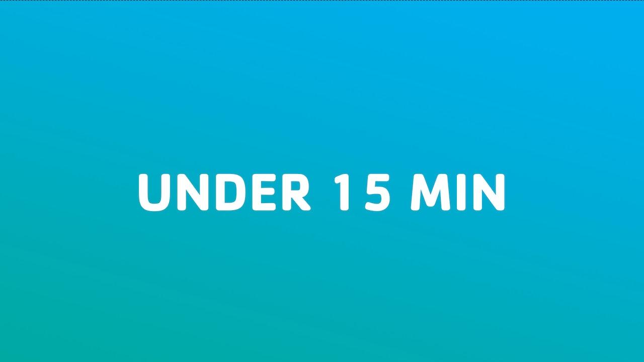 Under 15 Min