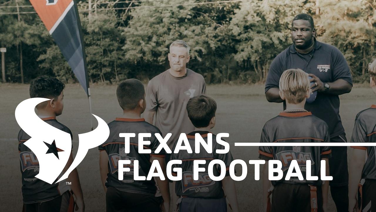 Texas Flag Football Drills