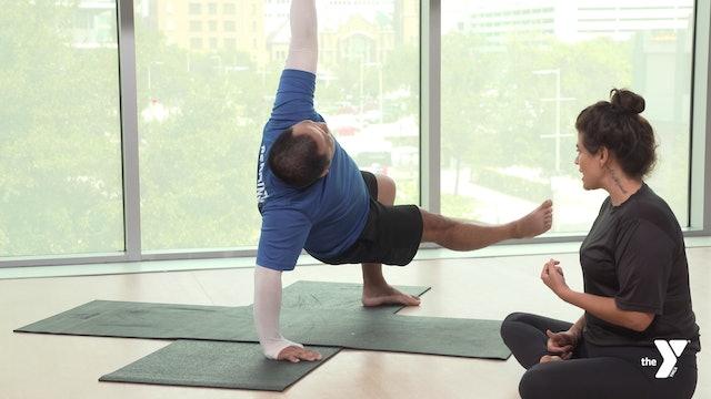 Lizard Lunge Step-through - Yoga Breakdown