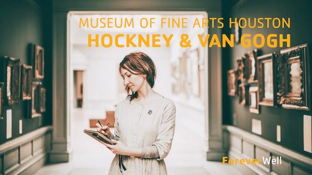 Museum of Fine Arts Houston - Hockney - Van Gogh Exhibit