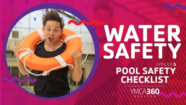 Pool Safety Checklist #WaterSafety