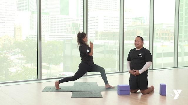 Crescent Lunge - Yoga Breakdown