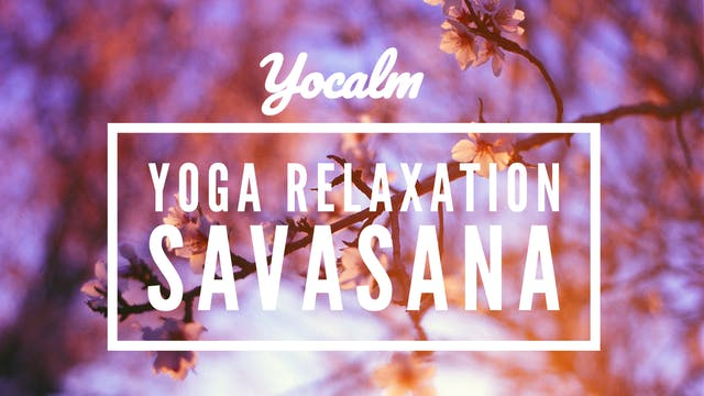 Yoga Relaxation Lying Savasana