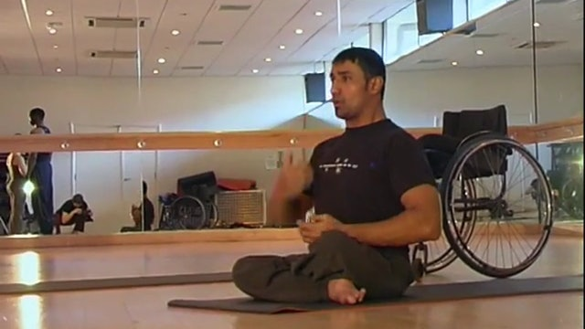 YOGA IN YOUR OWN ZONE  | for people with disabilities and mobility restrictions | 50:52
