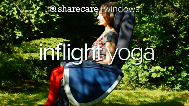 Inflight Yoga with Anne-Marie Newland