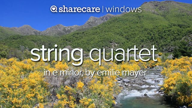 String Quartet in E Minor, by Emilie ...