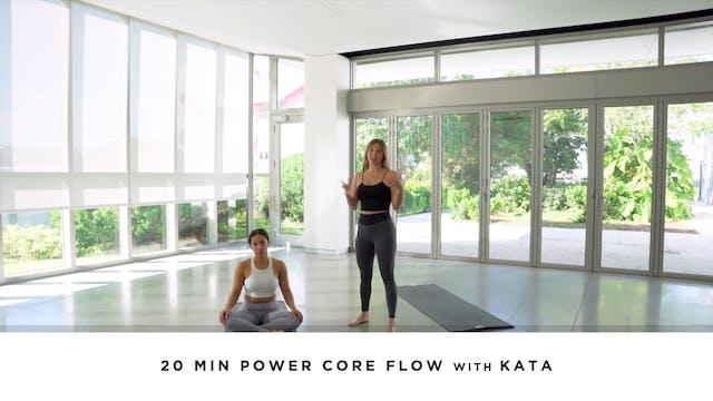 20 min Power Core Flow with Kata