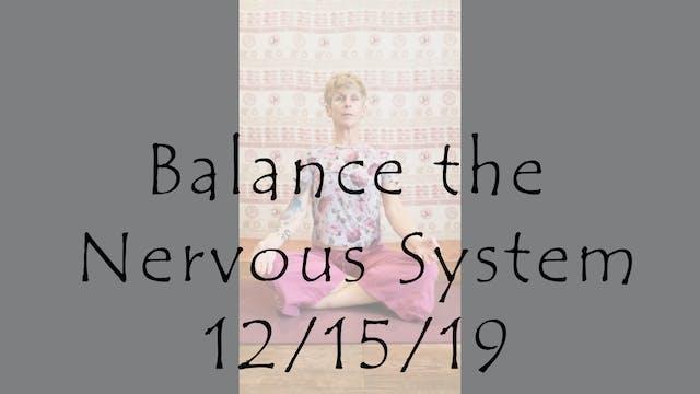 Balance the Nervous System (meditation)