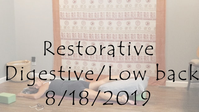 Restorative for the Digestive System and Low back