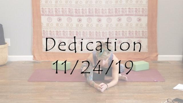 Dedication (Yin)