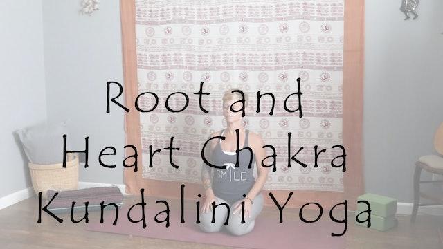 Root and Heart Chakra Kundalini Yoga – Level 1/2