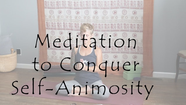 Meditation to Conquer Self-Animosity – All Level