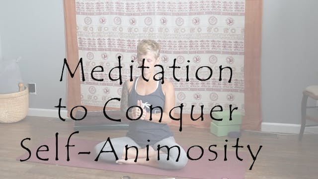 Meditation to Conquer Self-Animosity ...